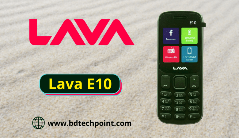 Lava E10 flash file