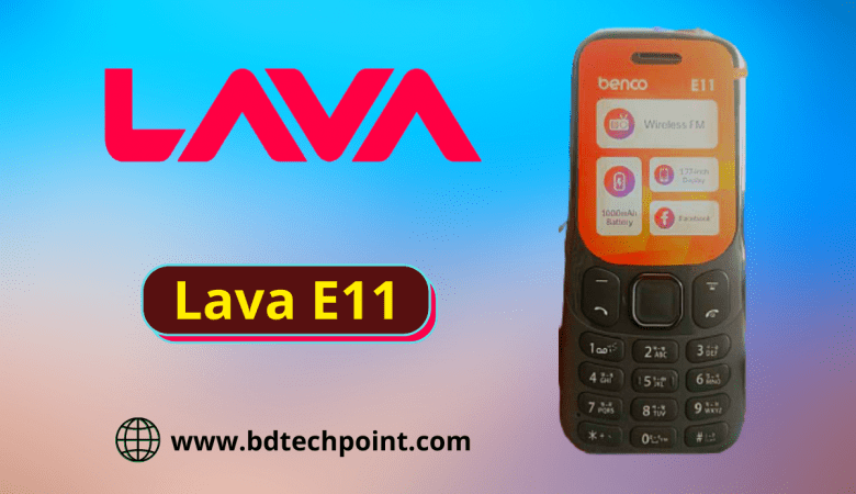 Lava E11 flash file