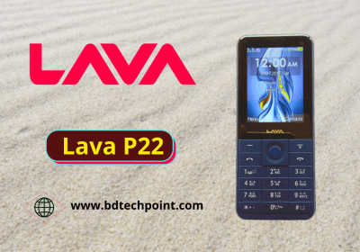 Lava P22 flash file